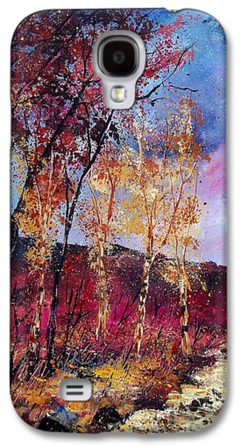 Landscape Galaxy S4 Case featuring the painting Autumn 760808 by Pol Ledent