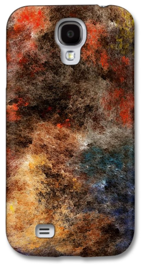 Abstract Digital Painting Galaxy S4 Case featuring the digital art Autumn Beauty by David Lane