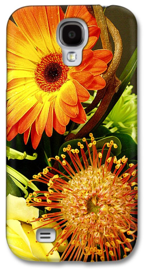 Autumn Galaxy S4 Case featuring the photograph Autumn Flower Arrangement by Nancy Mueller