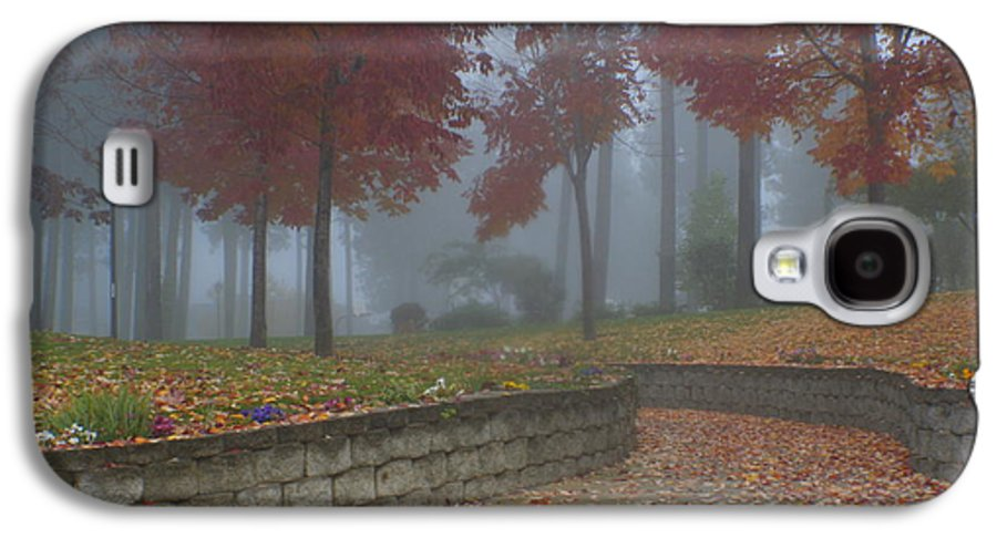 Autumn Galaxy S4 Case featuring the photograph Autumn Fog by Idaho Scenic Images Linda Lantzy