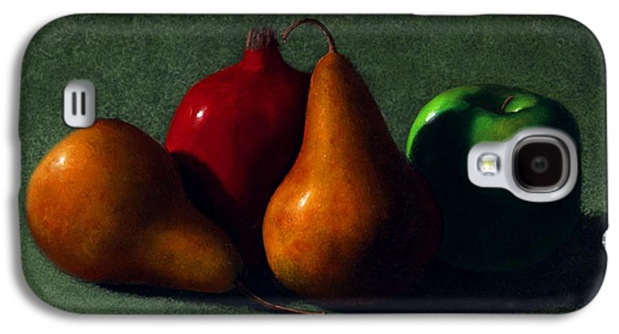 Still Life Galaxy S4 Case featuring the painting Autumn Fruit by Frank Wilson
