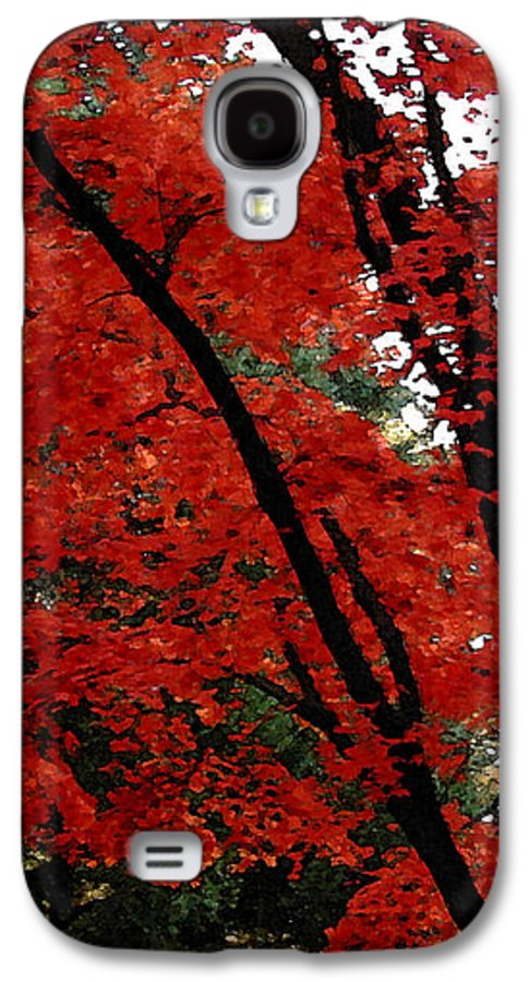 Autumn Galaxy S4 Case featuring the photograph Autumn In New England by Melissa A Benson