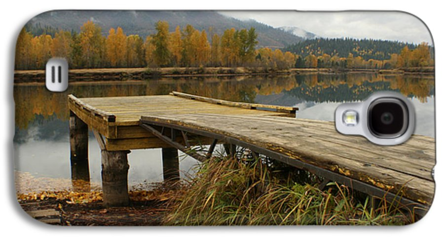 River Galaxy S4 Case featuring the photograph Autumn On The River by Idaho Scenic Images Linda Lantzy