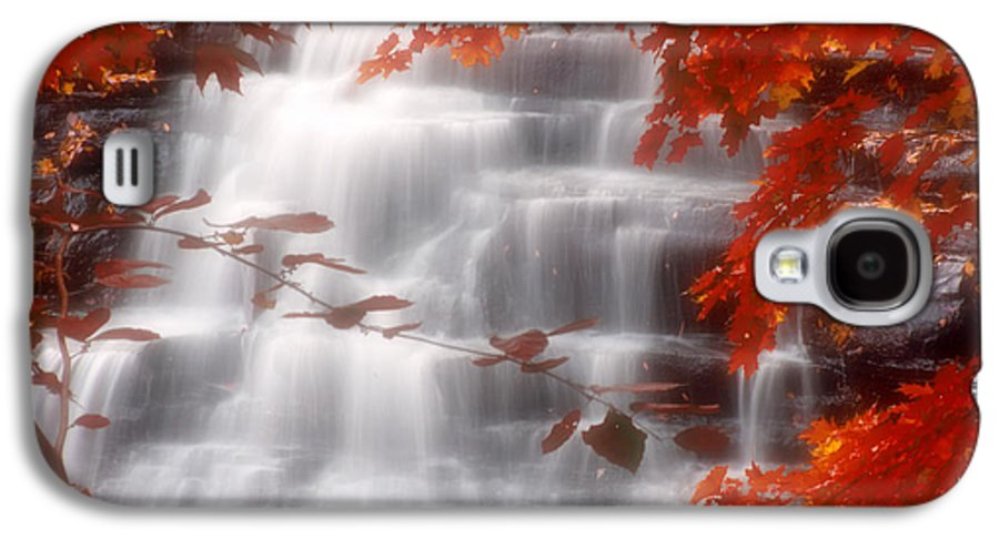 Autumn Galaxy S4 Case featuring the photograph Autumn Waterfall I by Kenneth Krolikowski
