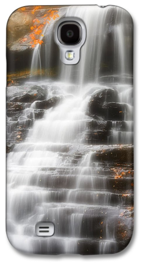 Autumn Galaxy S4 Case featuring the photograph Autumn Waterfall II by Kenneth Krolikowski