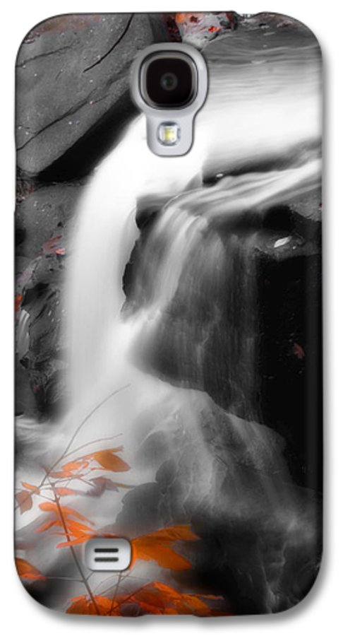Autumn Galaxy S4 Case featuring the photograph Autumn Waterfall Iv by Kenneth Krolikowski