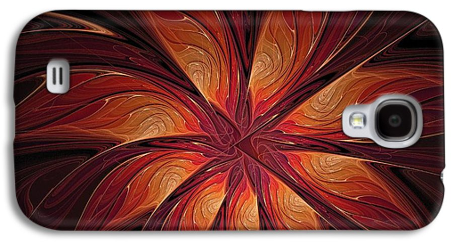 Digital Art Galaxy S4 Case featuring the digital art Autumnal Glory by Amanda Moore