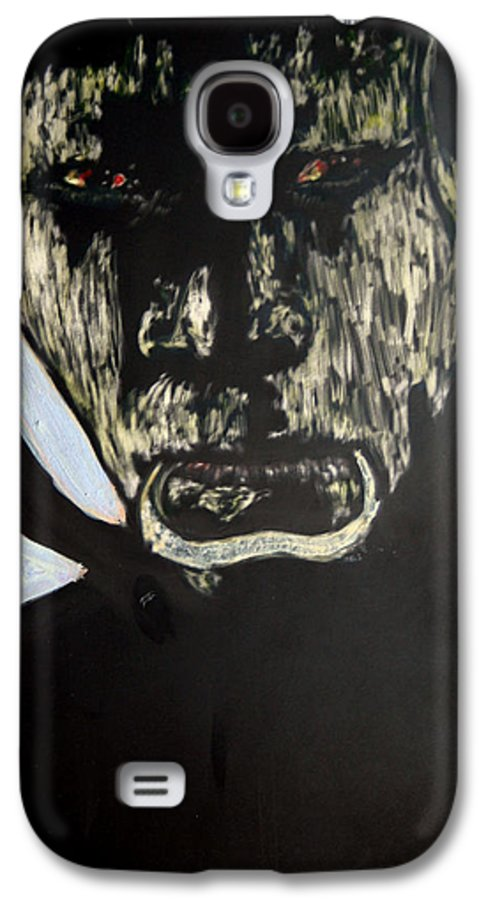 Galaxy S4 Case featuring the mixed media Avenging Angel by Chester Elmore