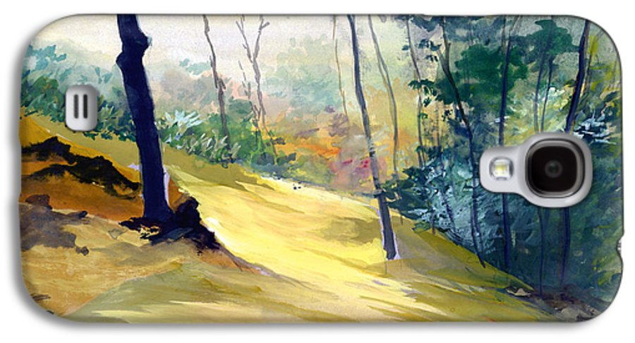 Landscape Galaxy S4 Case featuring the painting Balance by Anil Nene