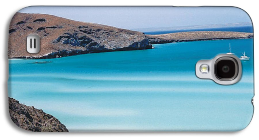 Blue Galaxy S4 Case featuring the photograph Balandra Bay by Kathy Schumann