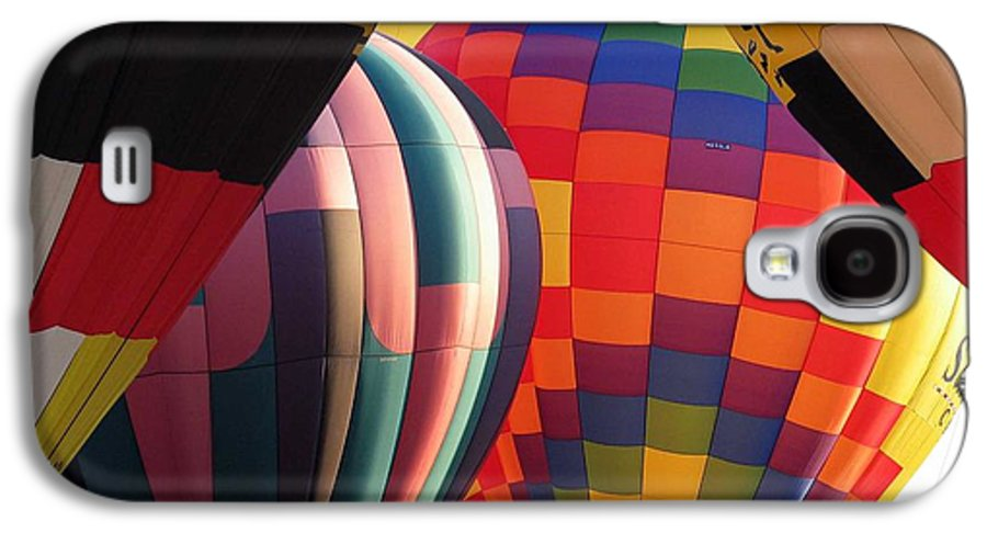 Hot Air Balloons Galaxy S4 Case featuring the photograph Balloons by Margaret Fortunato