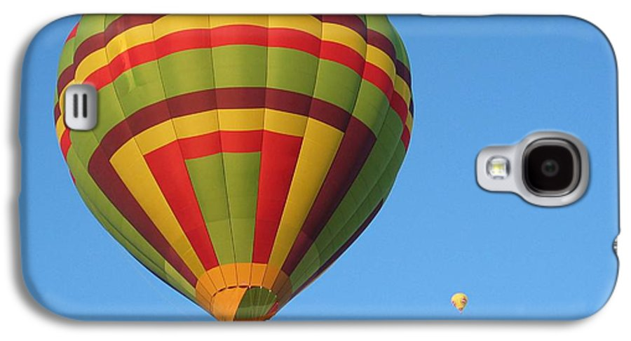 Hot Air Balloons Galaxy S4 Case featuring the photograph Balloons New Mexico by Margaret Fortunato