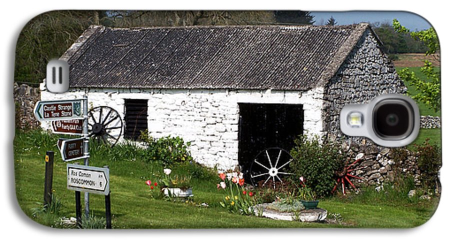 Ireland Galaxy S4 Case featuring the photograph Barn At Fuerty Church Roscommon Ireland by Teresa Mucha