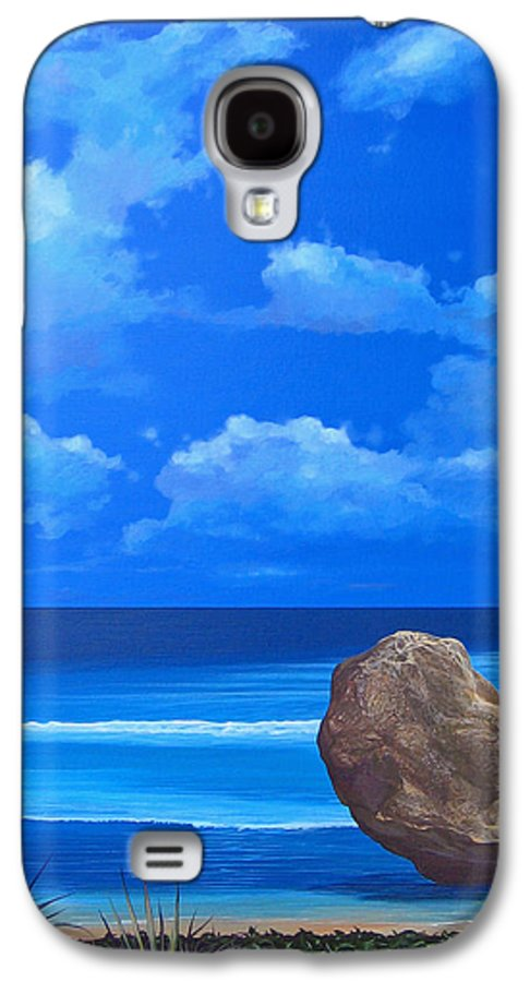 Barbados Galaxy S4 Case featuring the painting Bathsheba by Hunter Jay