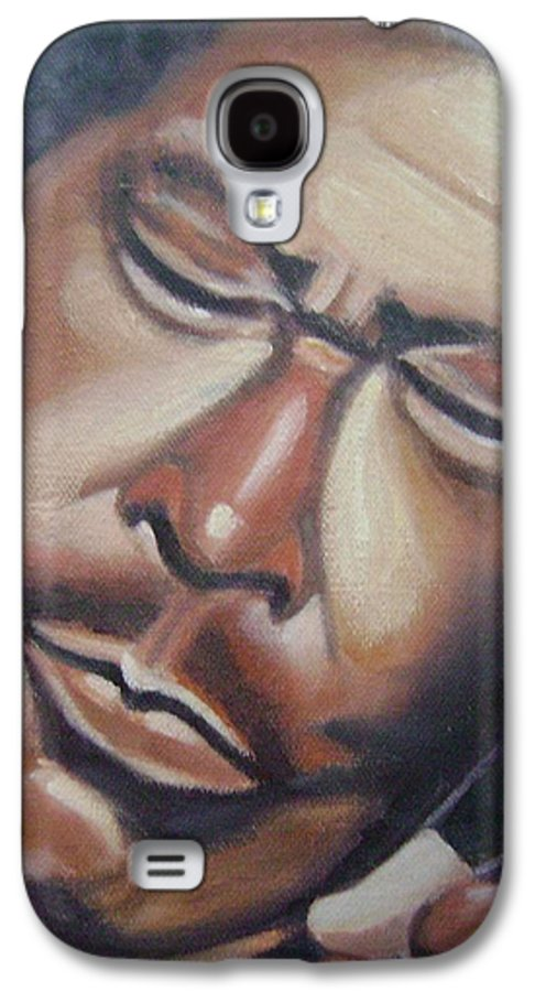 B.b. King Galaxy S4 Case featuring the painting B.b. King by Toni Berry