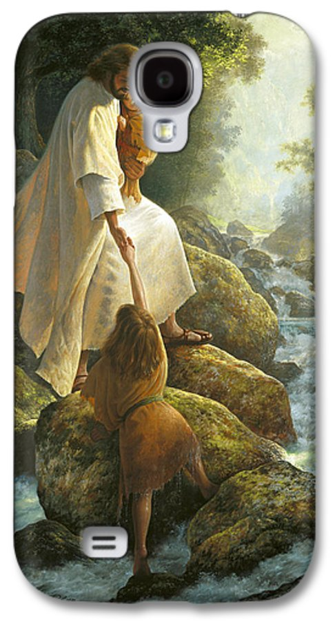 Jesus Galaxy S4 Case featuring the painting Be Not Afraid by Greg Olsen