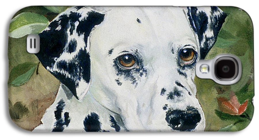 Portrait Galaxy S4 Case featuring the painting Beaudiddeley by Eileen Hale