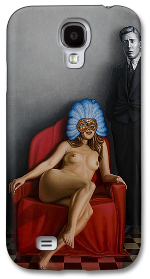 Nude Galaxy S4 Case featuring the painting Beauty Of The Carnival by Horacio Cardozo
