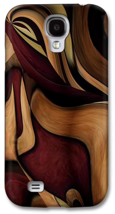Beauty Queen Galaxy S4 Case featuring the painting Beauty Queen by Jill English