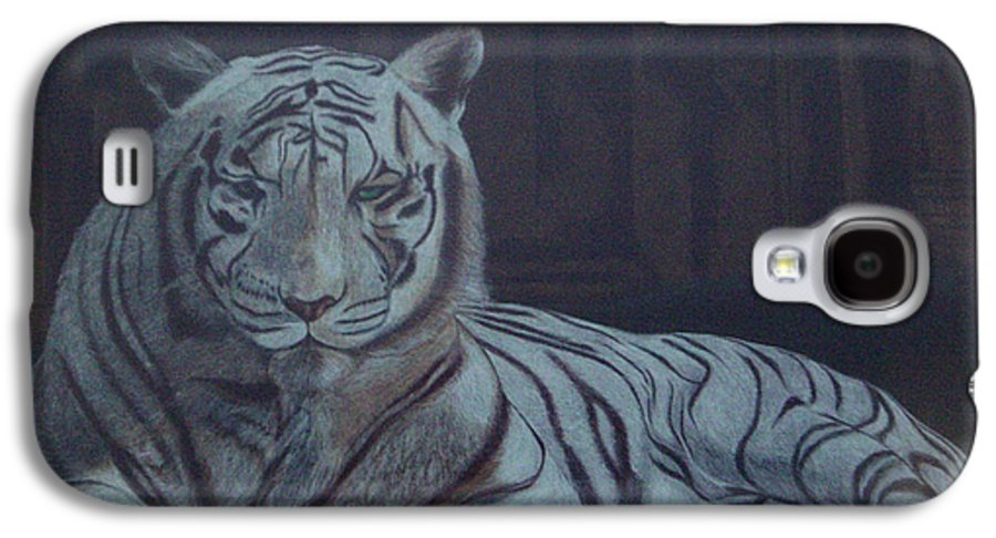 Wild Live Galaxy S4 Case featuring the painting Bengala Tiger by Fanny Diaz