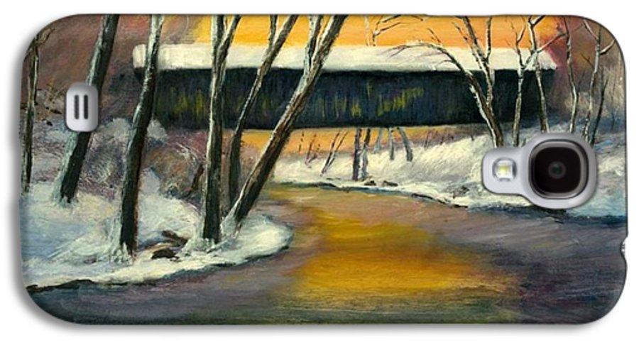 Kentucky Galaxy S4 Case featuring the painting Bennett by Gail Kirtz