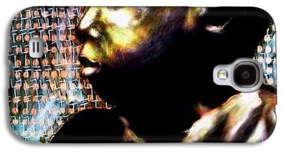 Portrait Galaxy S4 Case featuring the mixed media Big Baby Boy by Chester Elmore