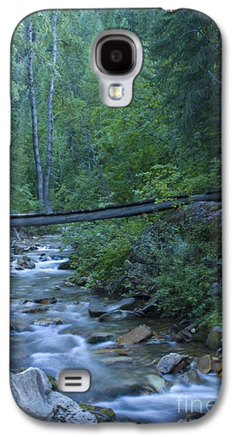 Creek Galaxy S4 Case featuring the photograph Big Creek Bridge by Idaho Scenic Images Linda Lantzy