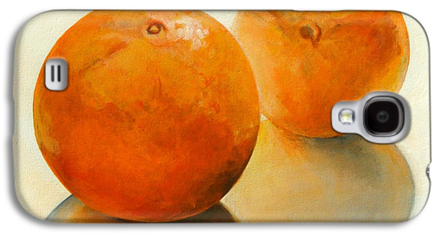 Still Life Galaxy S4 Case featuring the painting Billes Oranges by Muriel Dolemieux