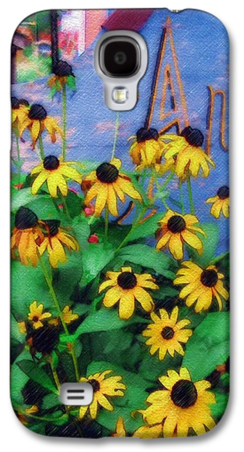 Flowers Galaxy S4 Case featuring the photograph Black-eyed Susans At The Bag Factory by Sandy MacGowan