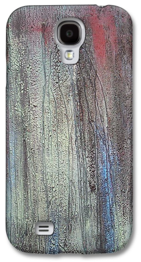 Paintings Galaxy S4 Case featuring the painting Black No 2 Sold by Elizabeth Klecker