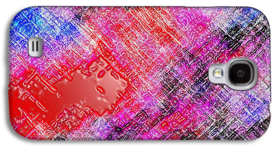 Abstract Galaxy S4 Case featuring the digital art Bleeding Soul by Cristophers Dream Artistry