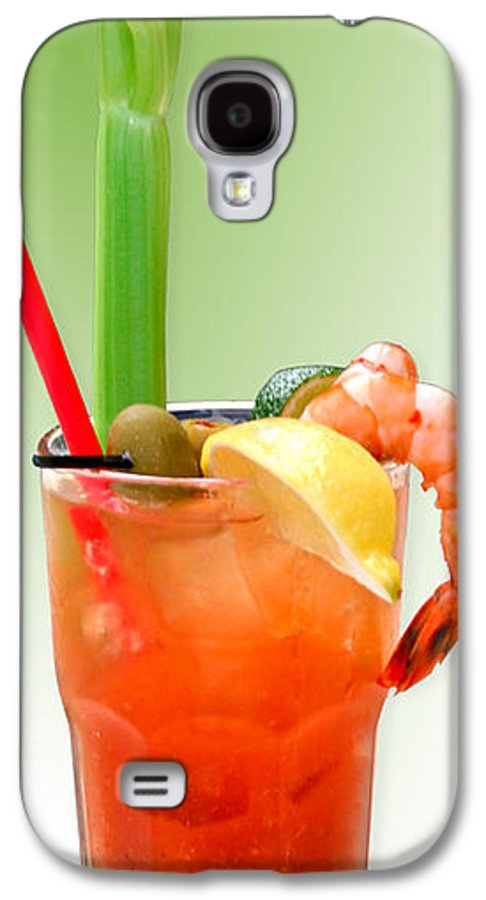 Drinks Galaxy S4 Case featuring the photograph Bloody Mary Hand-crafted by Christine Till