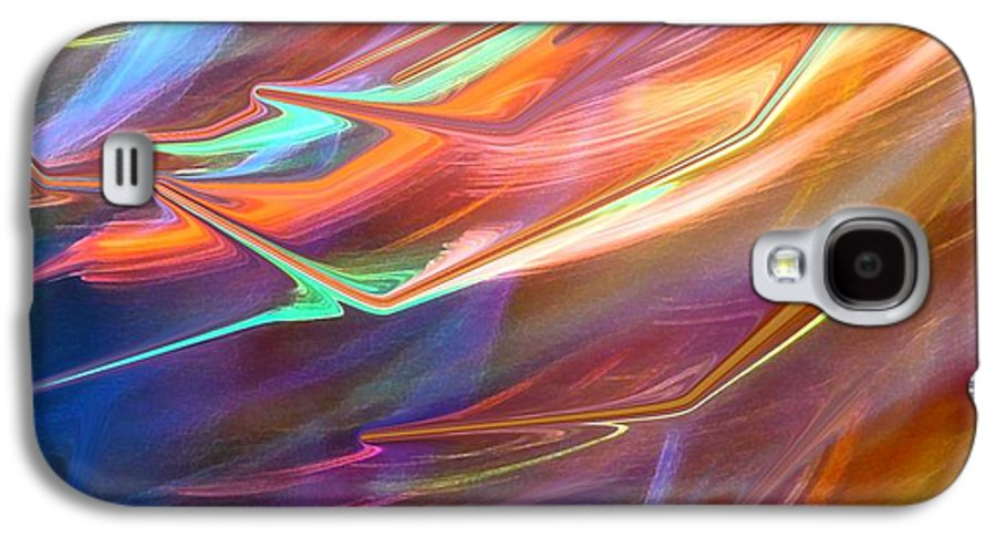 Abstract Galaxy S4 Case featuring the photograph Blown Away by Florene Welebny