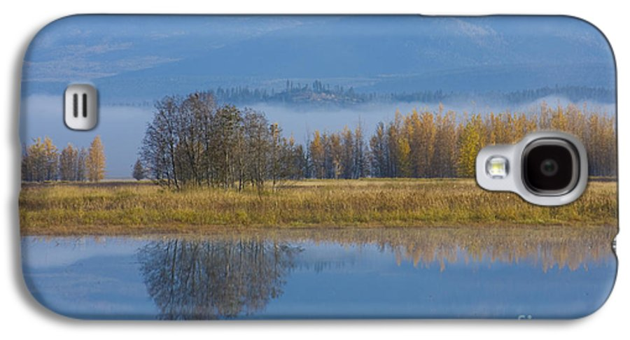 Blue Galaxy S4 Case featuring the photograph Blue And Gold by Idaho Scenic Images Linda Lantzy