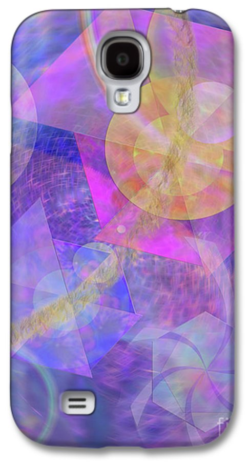 Blue Expectations Galaxy S4 Case featuring the digital art Blue Expectations by John Beck