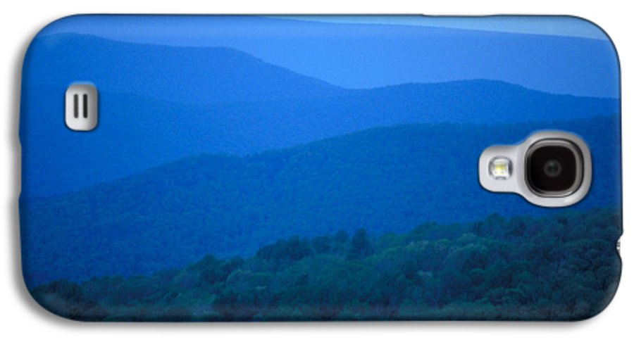 Mountains Galaxy S4 Case featuring the photograph Blue Ridge Mountains by Carl Purcell