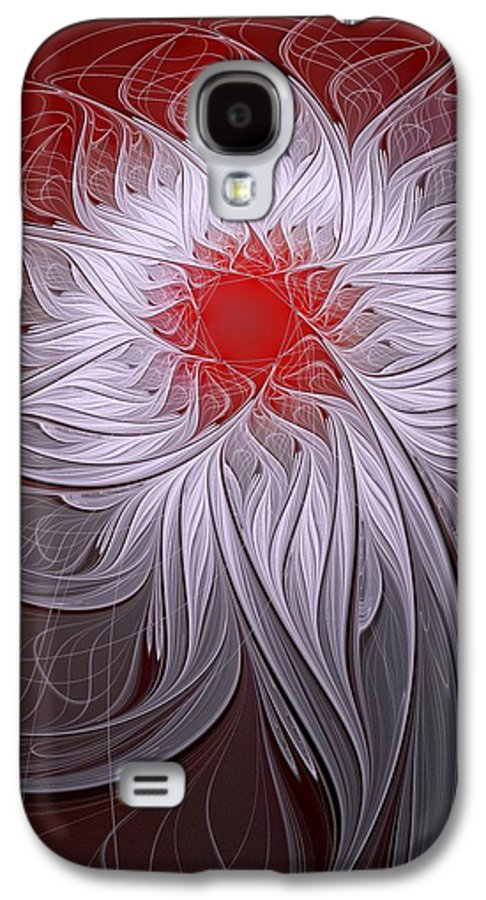Digital Art Galaxy S4 Case featuring the digital art Blush by Amanda Moore