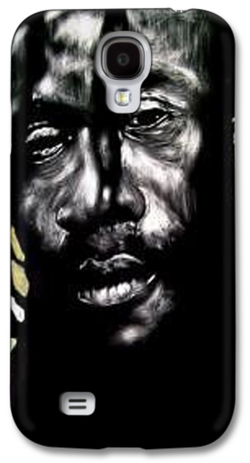 Portrait Galaxy S4 Case featuring the mixed media Bob Na I by Chester Elmore