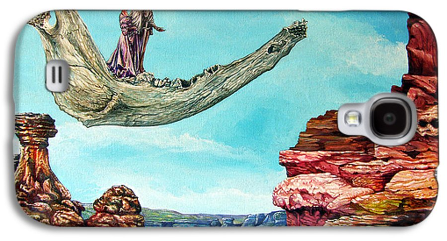 Painting Galaxy S4 Case featuring the painting Bogomils Journey by Otto Rapp