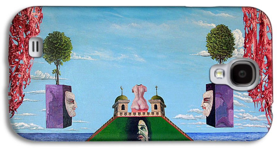 Painting Galaxy S4 Case featuring the painting Bogomils Monastic Retreat by Otto Rapp