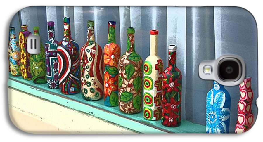 Bottles Galaxy S4 Case featuring the photograph Bottled Up by Debbi Granruth