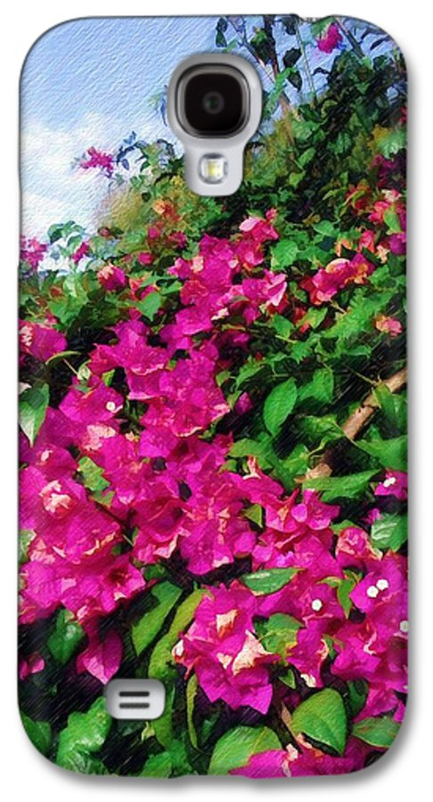 Bougainvillea Galaxy S4 Case featuring the photograph Bougainvillea by Sandy MacGowan