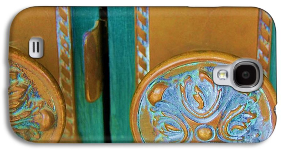 Door Galaxy S4 Case featuring the photograph Brass Is Green by Debbi Granruth