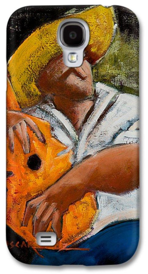Puerto Rico Galaxy S4 Case featuring the painting Bravado Alla Prima by Oscar Ortiz