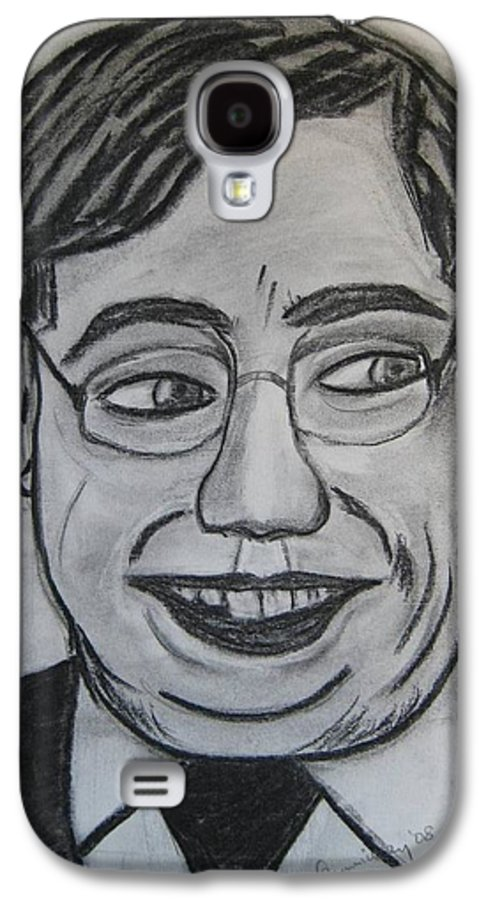 Art Artroger Roger Cummiskey Charcoal Galaxy S4 Case featuring the painting Brian Cowan by Roger Cummiskey