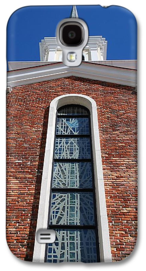 Architecture Galaxy S4 Case featuring the photograph Brick Church by Rob Hans
