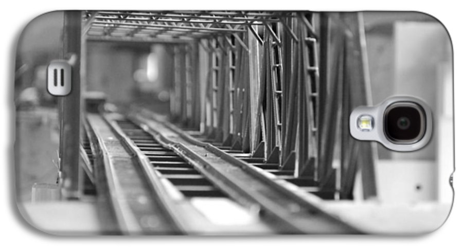Models Galaxy S4 Case featuring the photograph Bridge To Jerry Town by Margaret Fortunato