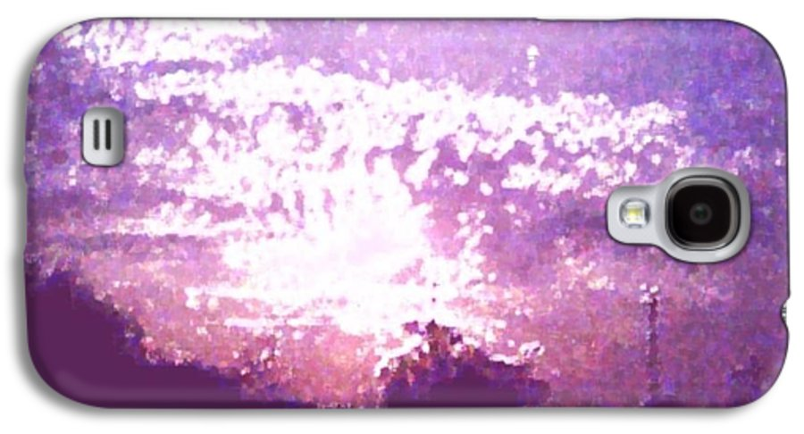 Evening Galaxy S4 Case featuring the digital art Bright Evening by Dr Loifer Vladimir