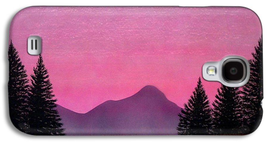 Landscape Galaxy S4 Case featuring the painting Brightness by Frank Wilson
