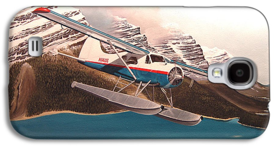 Aviation Galaxy S4 Case featuring the painting Bringing Home The Groceries by Marc Stewart